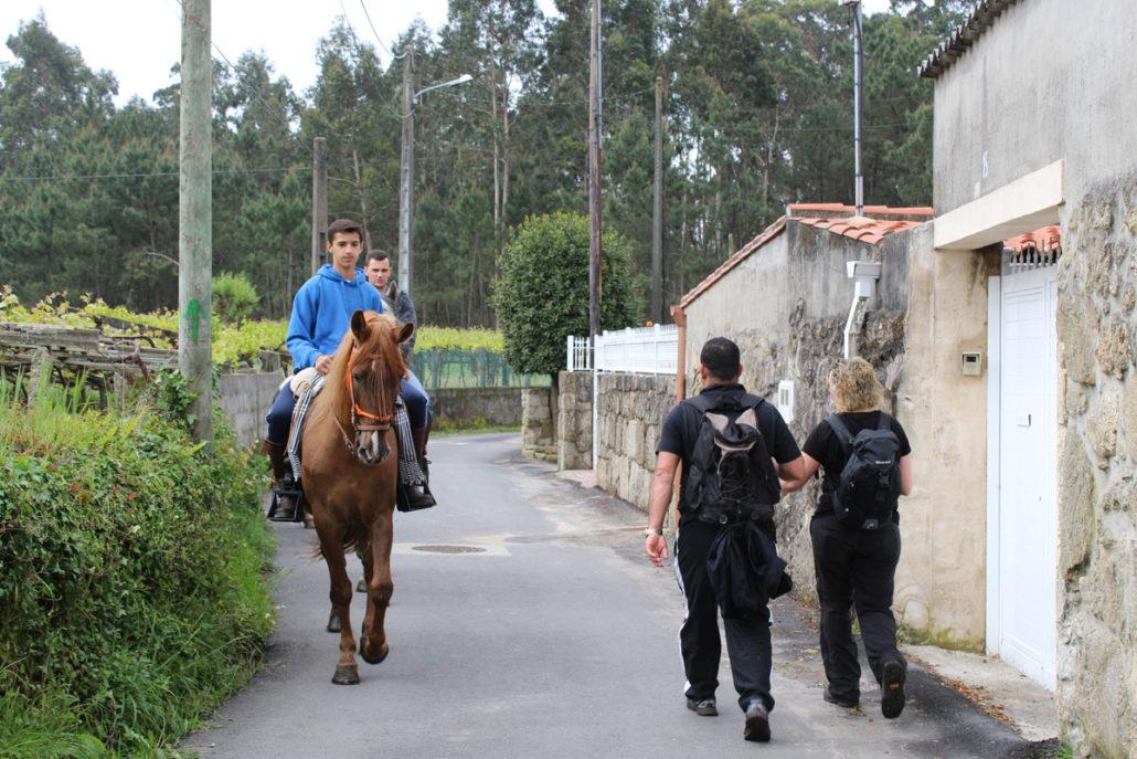 Camino Portugués - Etapa Pontevedra - Armenteira