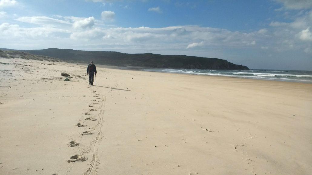 O Camiño dos Faros - Praia do Rostro