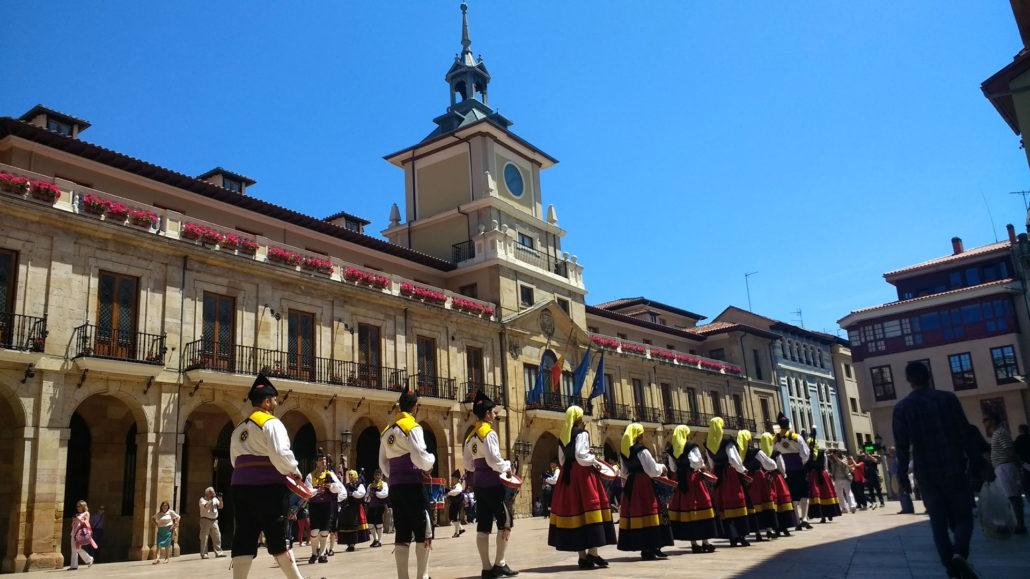 Camino Primitivo - Oviedo Plaza del Ayuntamiento